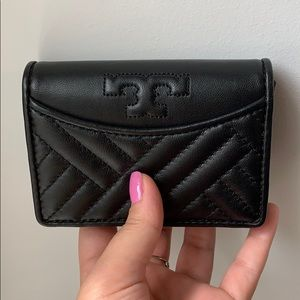 Never used Black Tory Burch Wallet